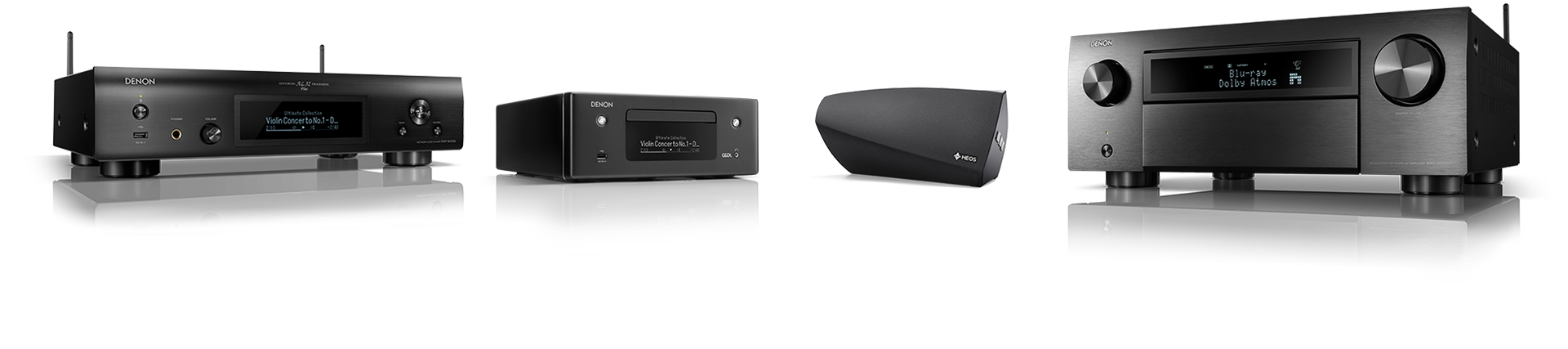 Use Google Assistant with these Denon and HEOS products:
