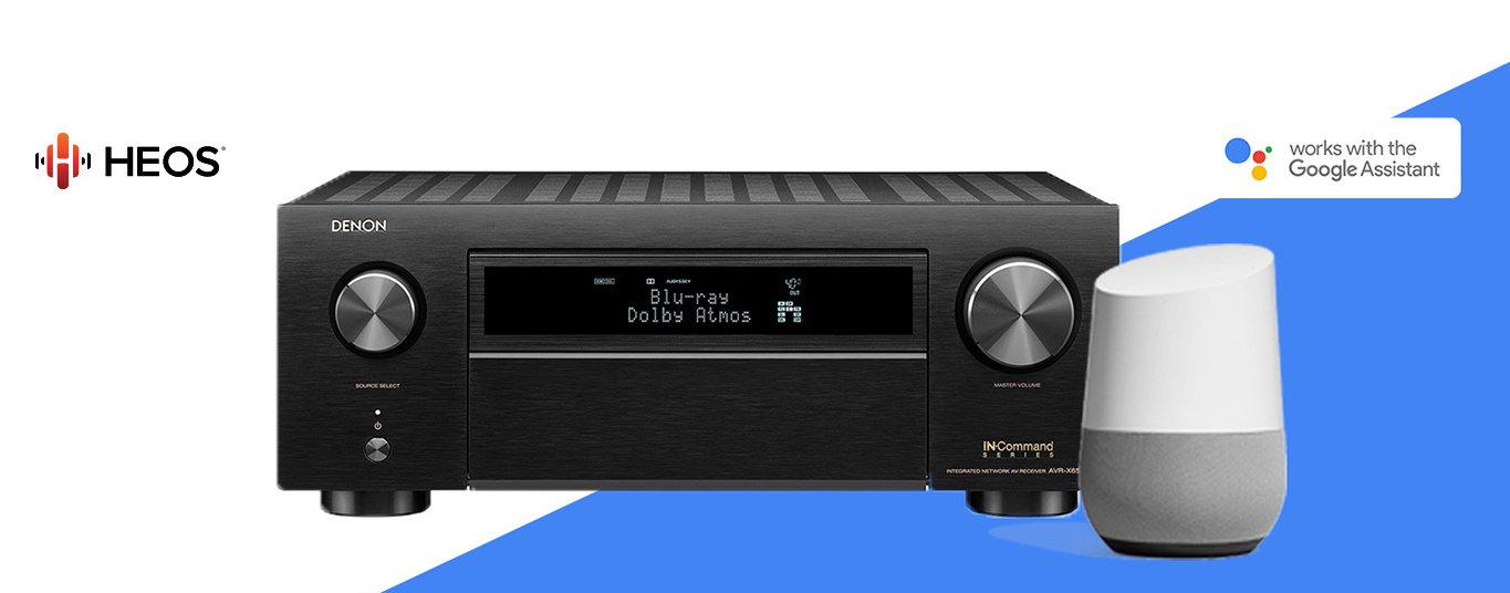 Denon Works with the Google Assistant