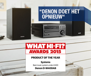 Denon D-M40DAB - PRODUCT OF THE YEAR AWARD