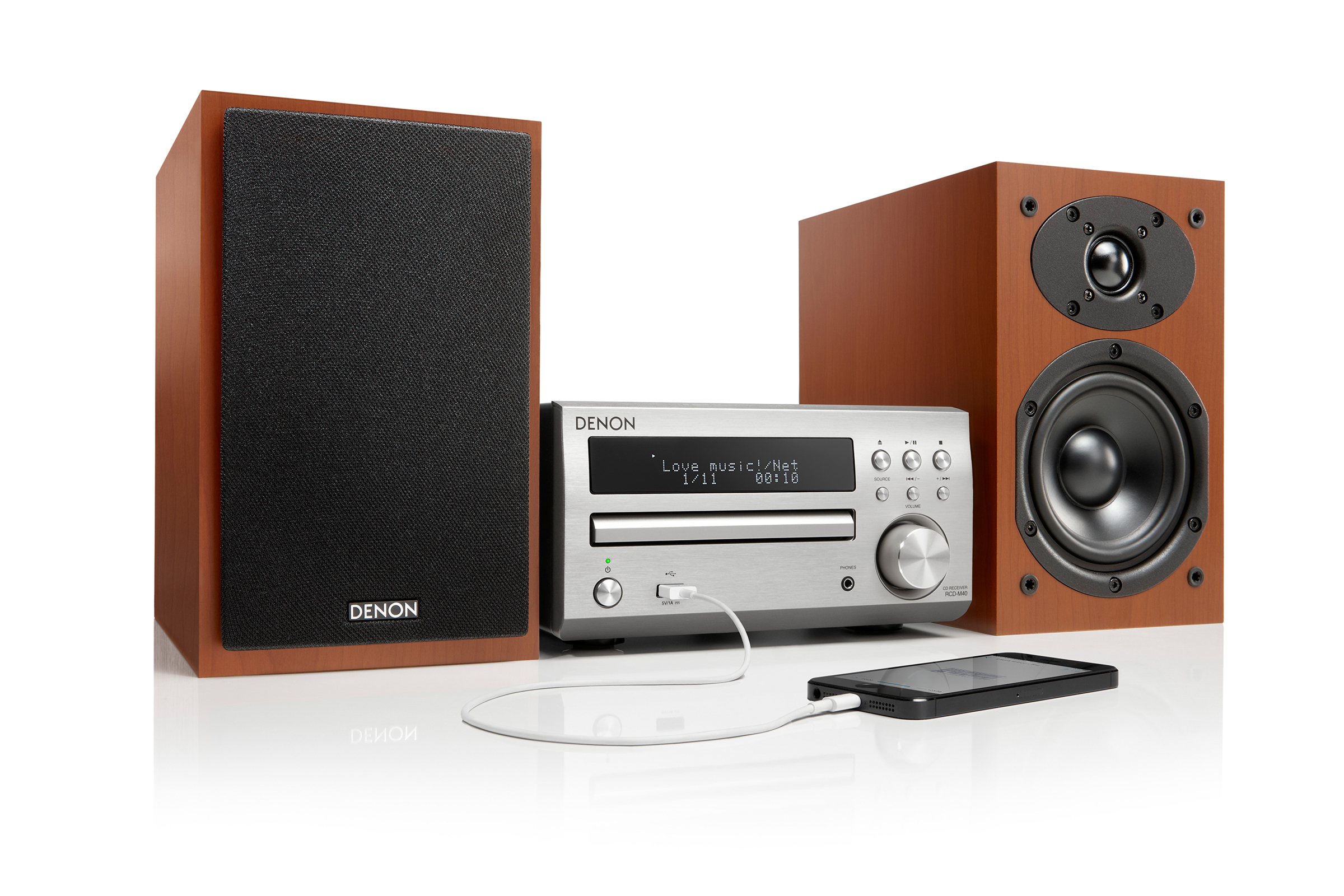 THE D-M40 RECEIVES 5 STARS FROM WHAT HI FI? ONLINE